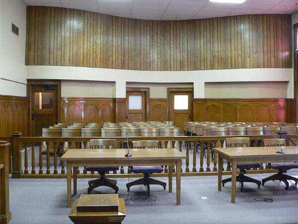A courthouse in Nebraska