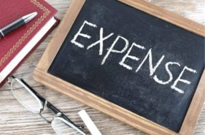 3 Person Expense Tracking Spreadsheet